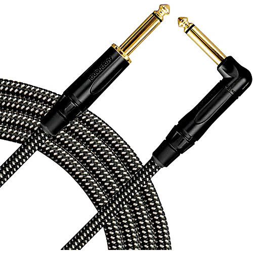 Livewire Signature Guitar Cable Straight/Angle Black and Gray
