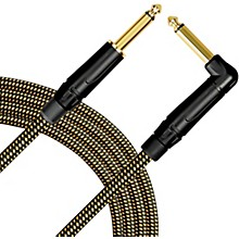 Livewire Signature Guitar Cable Straight/Angle Black and Yellow