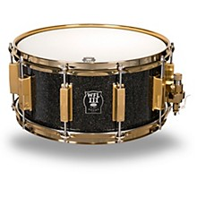 WFLIII Drums Signature Metal Snare Drum with Gold Hardware
