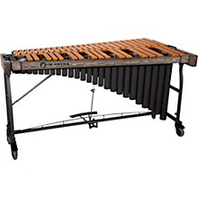 Signature Series Vibraphone, 3.5 Octaves Gold Finish Aluminum Bars Concert Frame with Motor