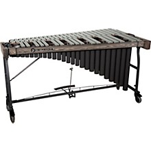 Signature Series Vibraphone, 3.5 Octaves Silver Finish Aluminum Bars Concert Frame with Motor