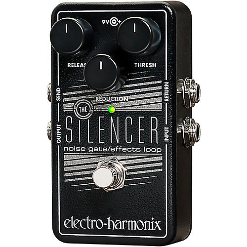 electro harmonix silencer noise gate guitar effects pedal musician 39 s friend. Black Bedroom Furniture Sets. Home Design Ideas