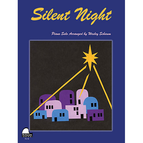 SCHAUM Silent Night Educational Piano Series Softcover