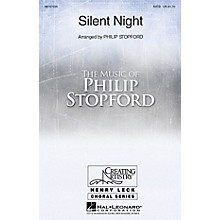 Hal Leonard Silent Night SATB arranged by Philip Stopford