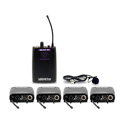 VocoPro SilentPA-IFB-4 In-Ear Monitor System