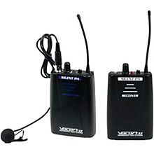 VocoPro SilentPA-PORTABLE 16CH UHF Wireless Audio Broadcast System (Bodypack Transmitter with Bodypack Receiver)