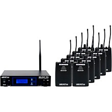 Open Box VocoPro SilentPA-SEMINAR10 16CH UHF Wireless Audio Broadcast System (Stationary Transmitter with ten bodypack receivers)