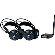 Open BoxVocoPro SilentSymphony-DUO Wireless Audio Broadcast and Headphone System with Two Headsets