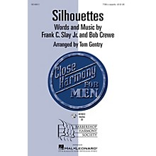 Hal Leonard Silhouettes TTBB A Cappella arranged by Tom Gentry