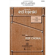 Hal Leonard Silhouettes TTBB A Cappella by The Nylons arranged by Ed Lojeski