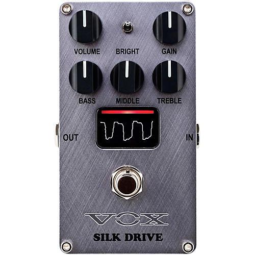 Vox Silk Drive - Valve Distortion Pedal Silver