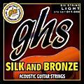 GHS Silk and Bronze Acoustic Guitar Strings Regular thumbnail