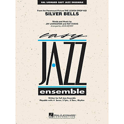 Hal Leonard Silver Bells Jazz Band Level 2 Arranged by John Berry