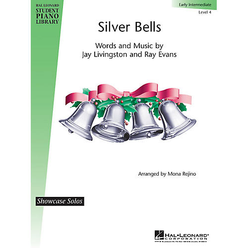 Hal Leonard Silver Bells Piano Library Series by Jay Livingston (Level Early Inter)