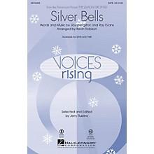 Hal Leonard Silver Bells TTBB Arranged by Kevin Robison