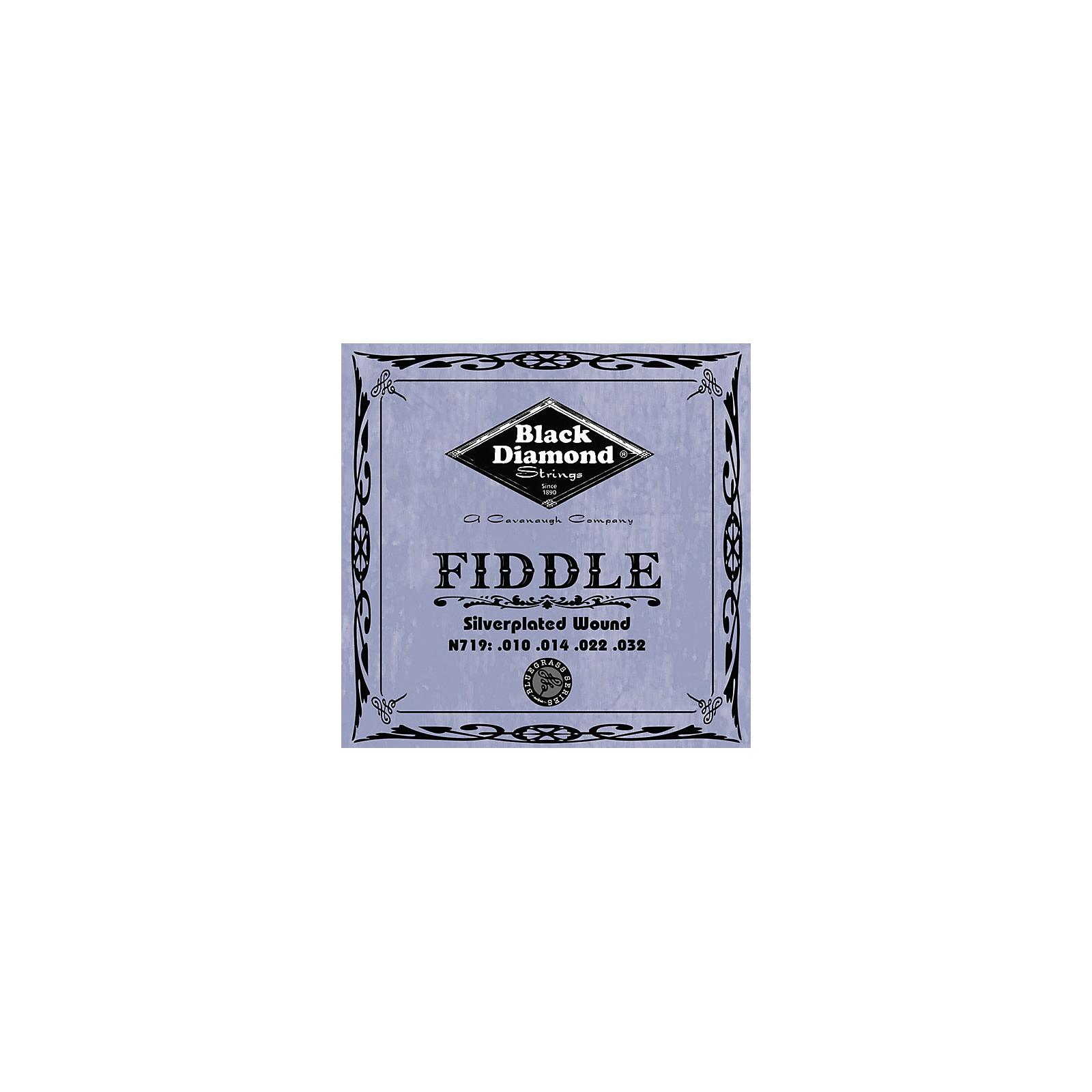Black Diamond Silver-Plated Fiddle Strings