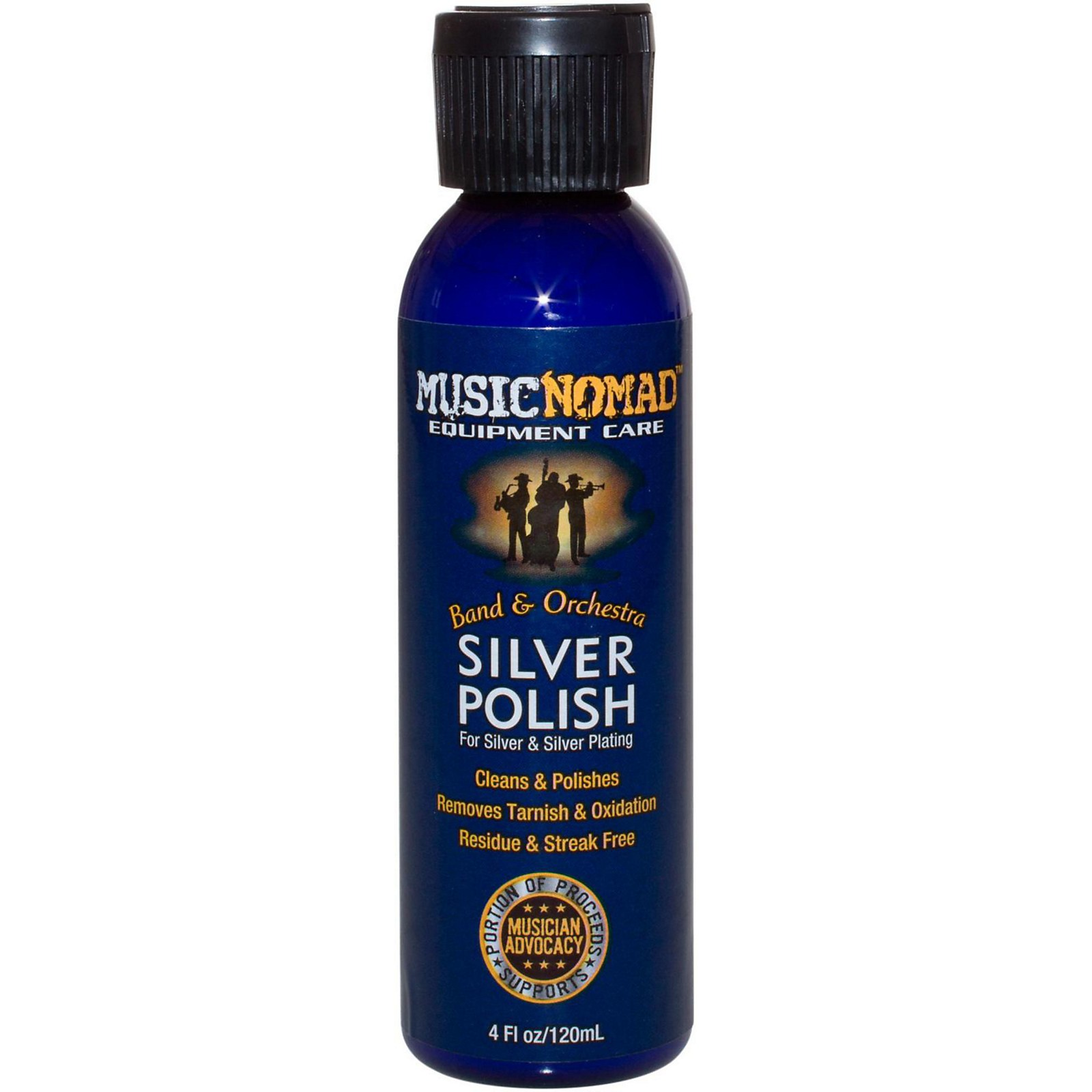 MusicNomad Silver Polish for Silver & Silver Plated Instruments