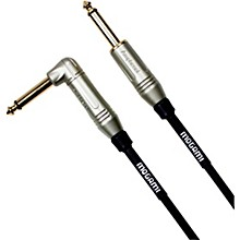 Mogami Silver Series Guitar Cable Straight to Right Angle