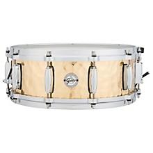 Gretsch Drums Silver Series Hammered Brass Snare Drum