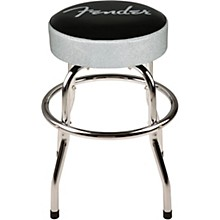 Fender Silver Sparkle Barstool - 24 in