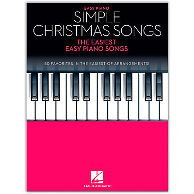 Hal Leonard Simple Christmas Songss - The Easiest Easy Piano Songs
