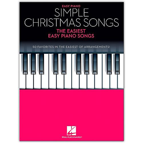 Hal Leonard Simple Christmas Songss - The Easiest Easy Piano Songs
