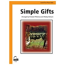 SCHAUM Simple Gifts (amer. Shaker Tune) Educational Piano Series Softcover