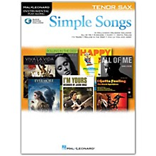 Hal Leonard Simple Songs (Tenor Sax) Tenor Sax