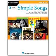 Hal Leonard Simple Songs (Violin) Violin