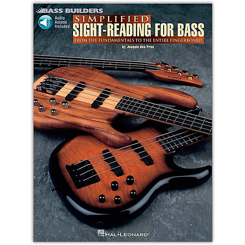 Hal Leonard Simplified Sight-Reading for Bass (Book/Online Audio)