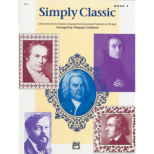Alfred Simply Classic Book 1 Piano