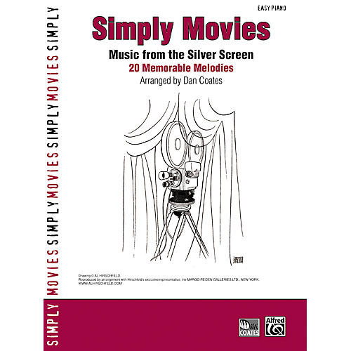Alfred Simply Movies Easy Piano