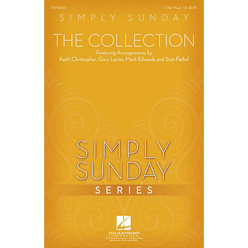 Hal Leonard Simply Sunday - The Collection 2 Part Mixed arranged by Keith Christopher