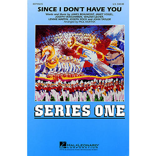 Hal Leonard Since I Don't Have You Marching Band Level 2 by Brian Setzer Orchestra Arranged by Paul Murtha