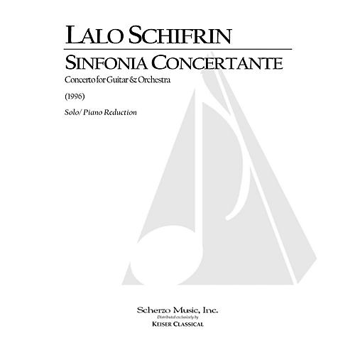 Lauren Keiser Music Publishing Sinfonia Concertante for Guitar and Orchestra (Piano Reduction) LKM Music Series by Lalo Schifrin