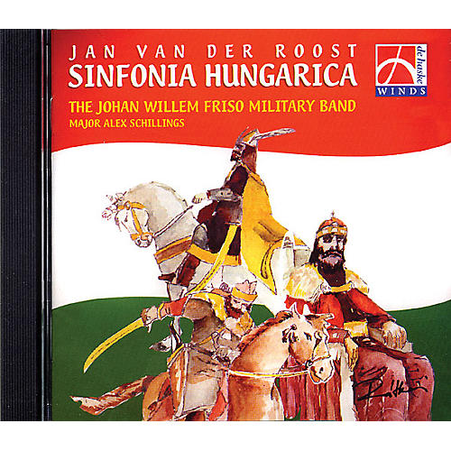 De Haske Music Sinfonia Hungarica CD (De Haske Sampler CD) Concert Band Composed by Various