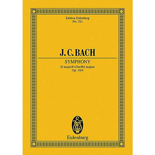 Eulenburg Sinfonia in D Major, Op. 18/4 (Study Score) Schott Series Composed by Johann Christian Bach