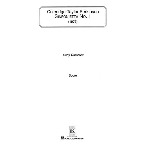 Lauren Keiser Music Publishing Sinfonietta No. 1 (for String Orchestra) LKM Music Series Composed by Coleridge-Taylor Perkinson