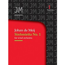 Amstel Music Sinfonietta No. 1 for Wind Orchestra (Score Only) Concert Band Level 3-5 Composed by Johan de Meij