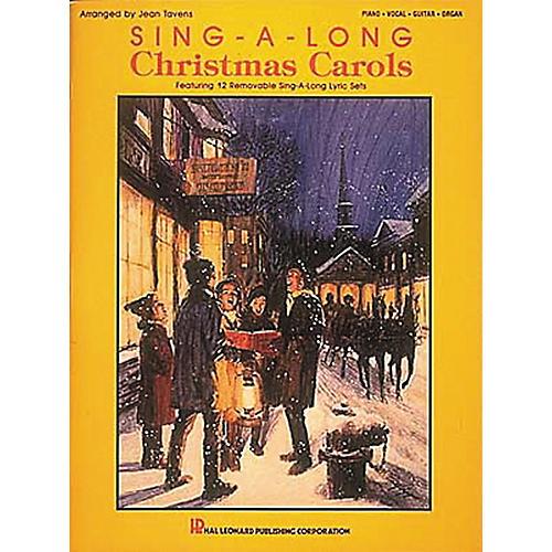 Hal Leonard Sing-A-Long Christmas Carols Piano, Vocal, Guitar Songbook
