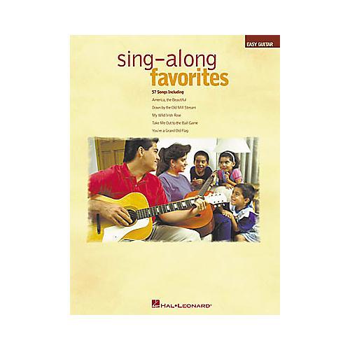 Hal Leonard Sing-Along Favorites Easy Guitar Book