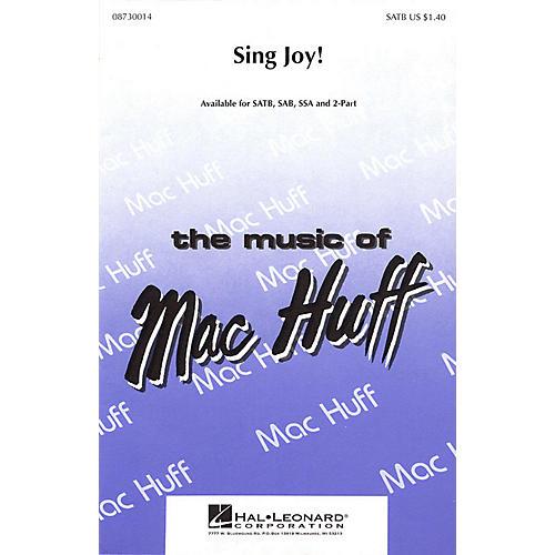 Hal Leonard Sing Joy! SAB