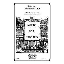 Hal Leonard Sing Jubilate Deo! (Choral Music/Octavo Sacred Satb) SATB Composed by Riley, Shari
