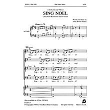 Fred Bock Music Sing Noel SATB composed by Allan Robert Petker