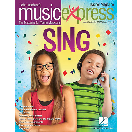 Hal Leonard Sing! Vol. 17 No. 1 (August/September 2016) PREMIUM PAK by Pentatonix Arranged by Emily Crocker