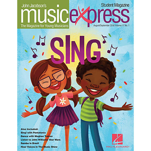 Hal Leonard Sing! Vol. 17 No. 1 (August/September 2016) Student 10Pk by Pentatonix Arranged by Emily Crocker
