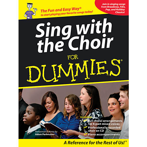 Hal Leonard Sing With The Choir For Dummies - Book/CD Pack