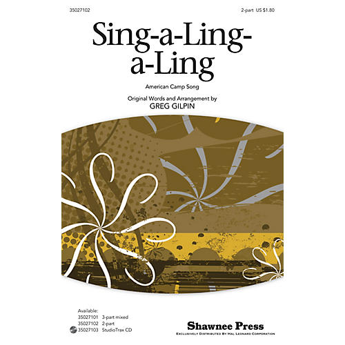 Shawnee Press Sing-a-Ling-a-Ling 2-Part