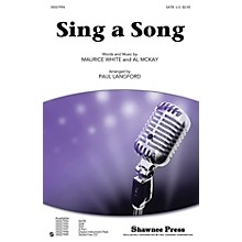 Shawnee Press Sing a Song Studiotrax CD by Earth, Wind & Fire Arranged by Paul Langford