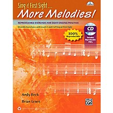 Alfred Sing at First Sight . . . More Melodies! Reproducible Book & Data CD